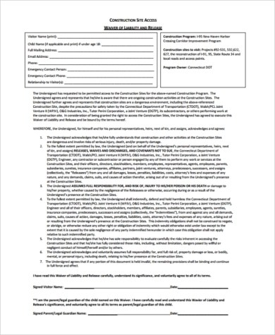 General Release of Liability Form - 6+ Free Documents in Word, PDF