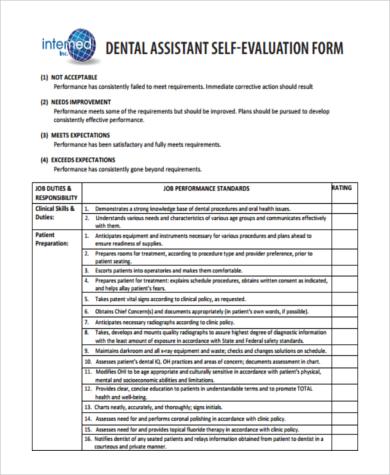 Employee Self Evaluation Form Sample - 8+ Free Documents in Word, PDF - employee self evaluation forms