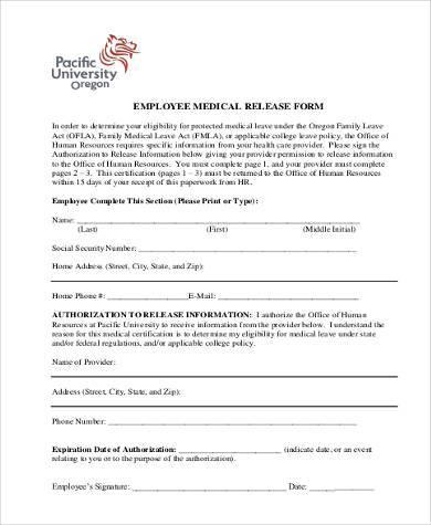 100+ Medical Information Release Form Template Personal - medical information release form