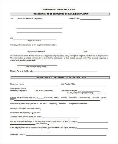 dot previous employment verification form - Deanroutechoice