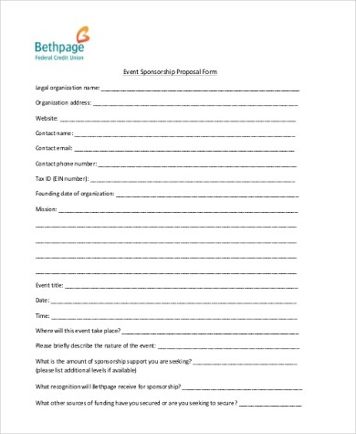 Event Proposal Sample - 9+ Free Documents in Word, PDF - event proposals samples
