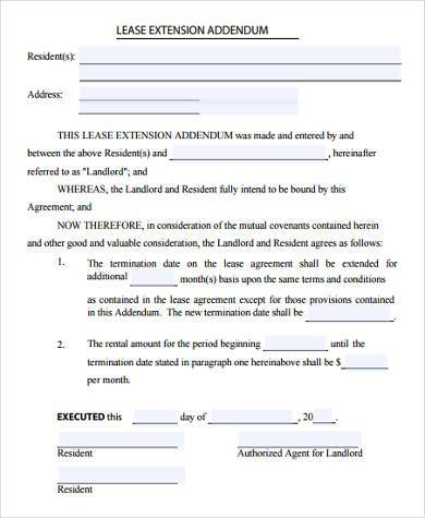 Rental Lease Agreement Sample Forms - 9+ Free Documents in Word, PDF