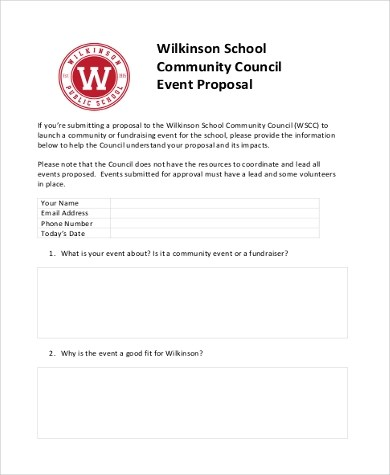 Event Proposal Sample - 9+ Free Documents in Word, PDF - proposal for an event