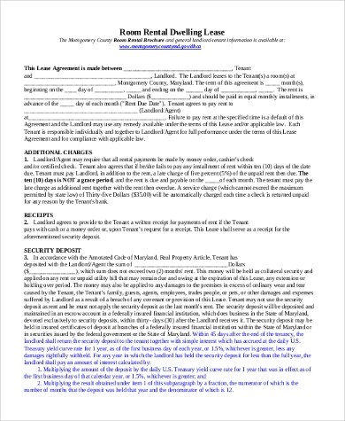 Free Rental Lease Agreement Form - 10+ Free Documents in Word, PDF - free rental agreement