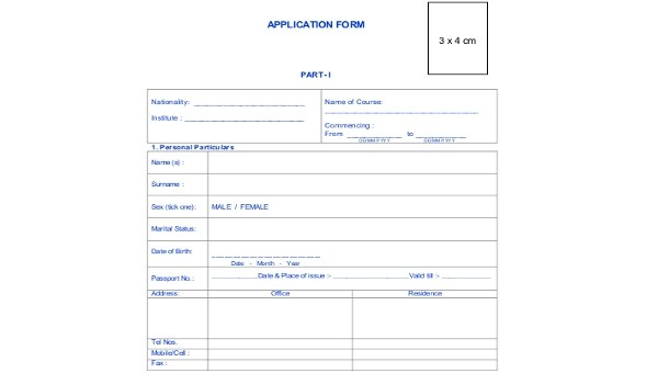 General Application Form Samples - 9+ Free Documents in PDF