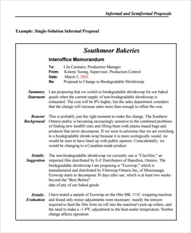 Business Proposal Sample - 8+ Free Documents in Word, PDF