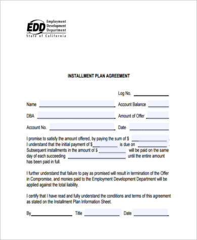 Sample Payment Contract Forms - 8+ Free Documents in PDF - payment agreement form sample