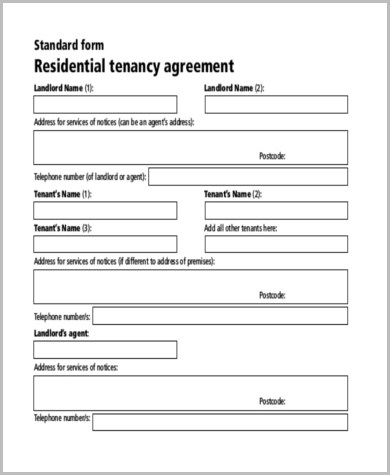Sample Lease Rental Agreement Form - 8+ Free Documents in Word, PDF - Sample Lease Agreement Form