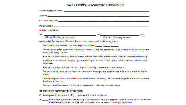 Partnership Agreement Form Samples - 9+ Free Documents in Word, PDF
