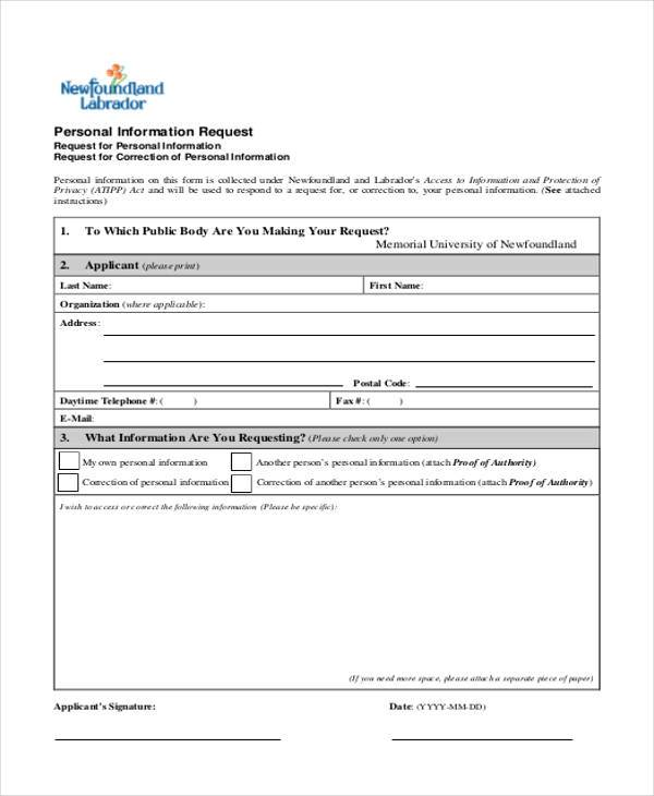 request for information forms - Towerdlugopisyreklamowe