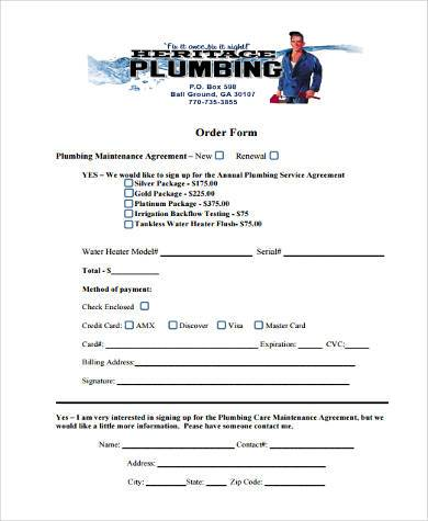 Sample Maintenance Agreement Forms - 8+ Free Documents in Word, PDF