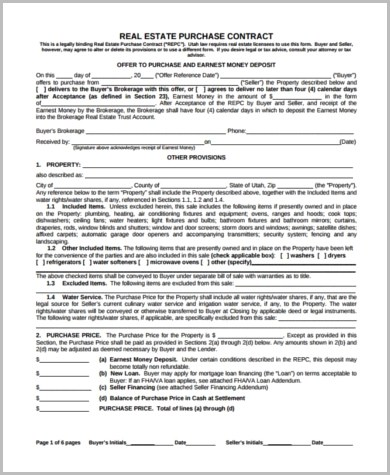 Purchase Offer Form Sample - 9+ Free Documents in Word, PDF