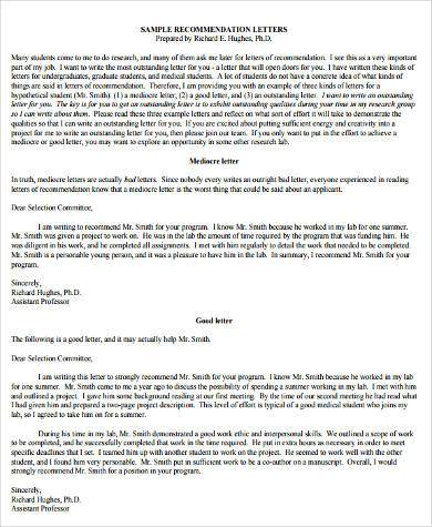 Sample Recommendation Letter From Employer - 9+ Free Documents in - recommendation letter pdf