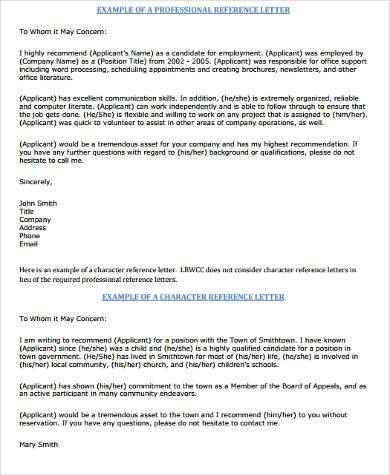 Sample Recommendation Letter To Whom It May Concern - 100+ Cover - to whom it may concern letter