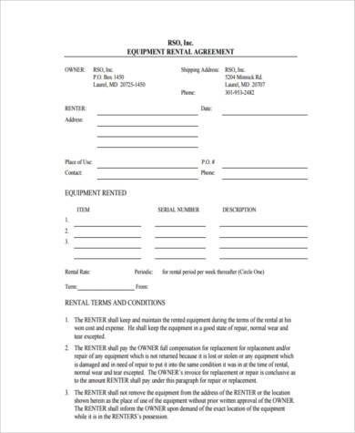 rent to own forms free - Acurlunamedia