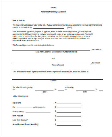 Sample Rental Contract Forms - 9+ Free Documents in Word, PDF - house rental contract