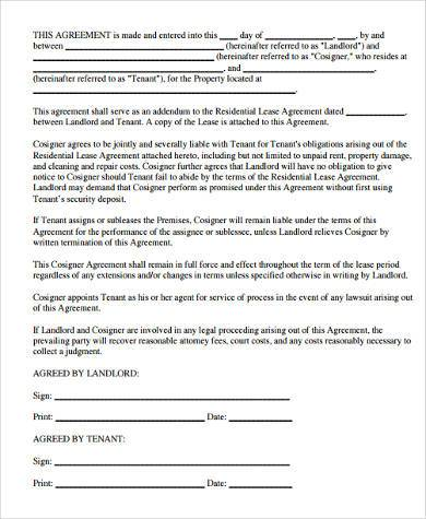 Rental Lease Agreement Form Samples - 9+ Free Documents in Word, PDF - property lease agreement template