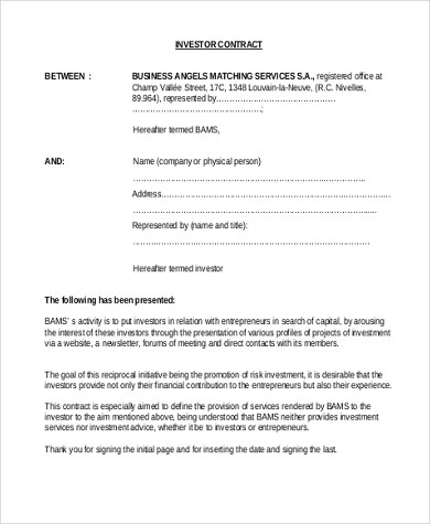 Sample Contracts Forms - 10+ Free Documents in Word, PDF