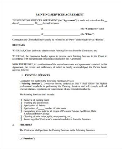 Service Agreement Form Samples - 8+ Free Documents in Word, PDF - service contract form