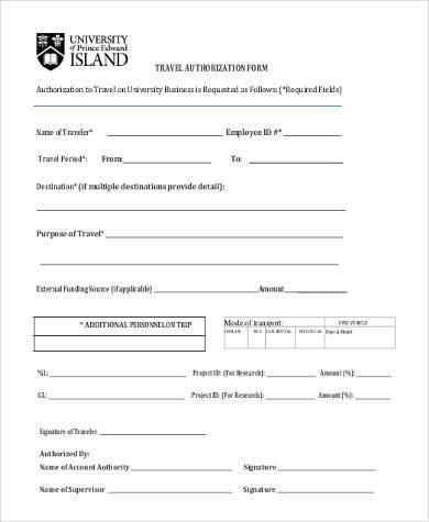 employee authorization form - Pinarkubkireklamowe