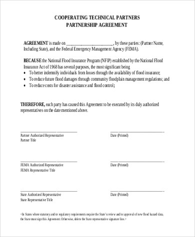 Partnership Agreement Sample - 9+ Free Documents in Word, PDF