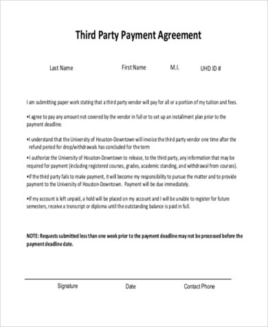Payment Agreement - 9+ Free Documents in Word, PDF