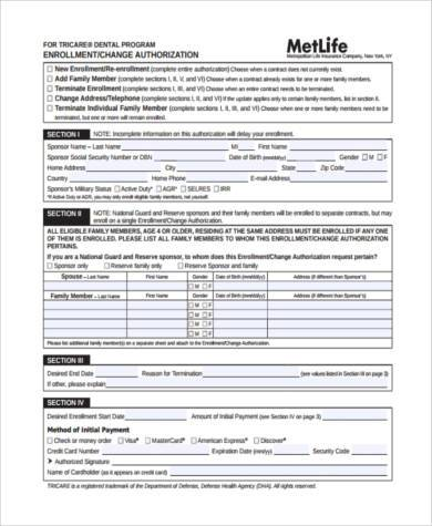 Sample Pre Authorization Forms - 8+ Free Documents in PDF