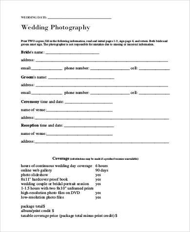 Sample Photography Model Release Forms - 8+ Free Documents in Word, PDF