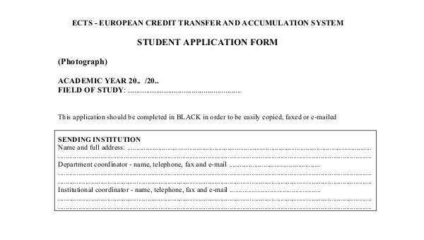 7+ Student Application Form Samples - Free Sample, Example Format
