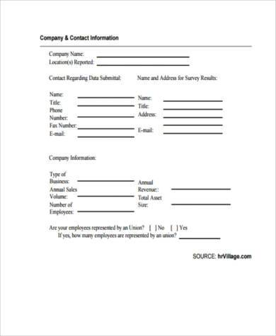 Survey Forms In Word oakandale - survey forms in word