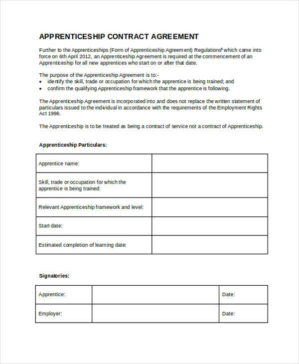 Sample Contract Registration Form - Free Documents in Word, PDF - simple contract template