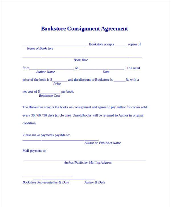 consignment agreement form - Goalgoodwinmetals - Consignment Agreement Template