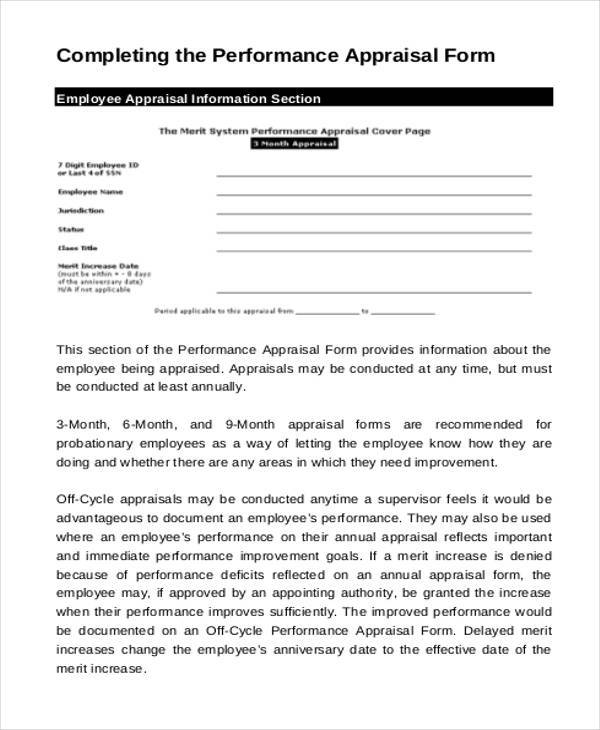 annual appraisal form hitecauto - monthly performance review template