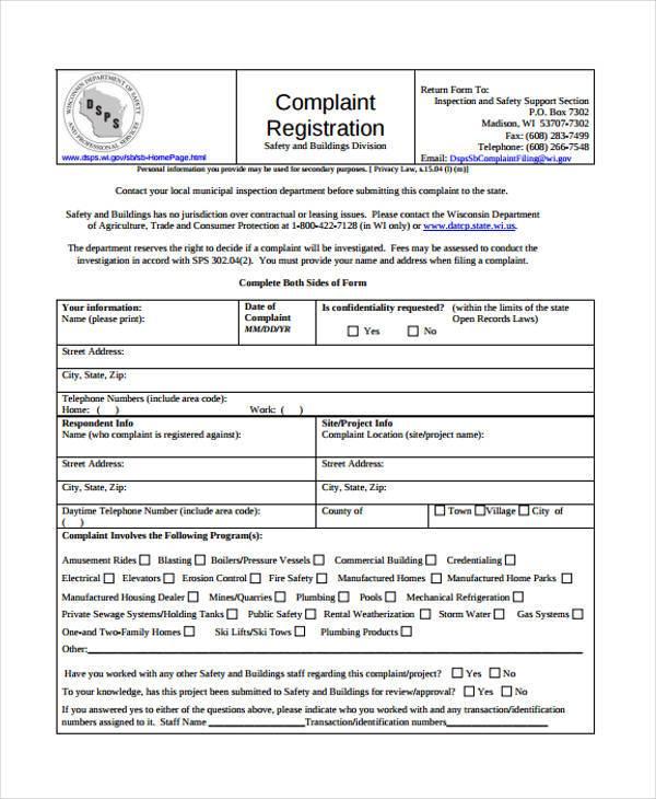 sample ftc complaint form efficiencyexperts - sample consumer complaint form
