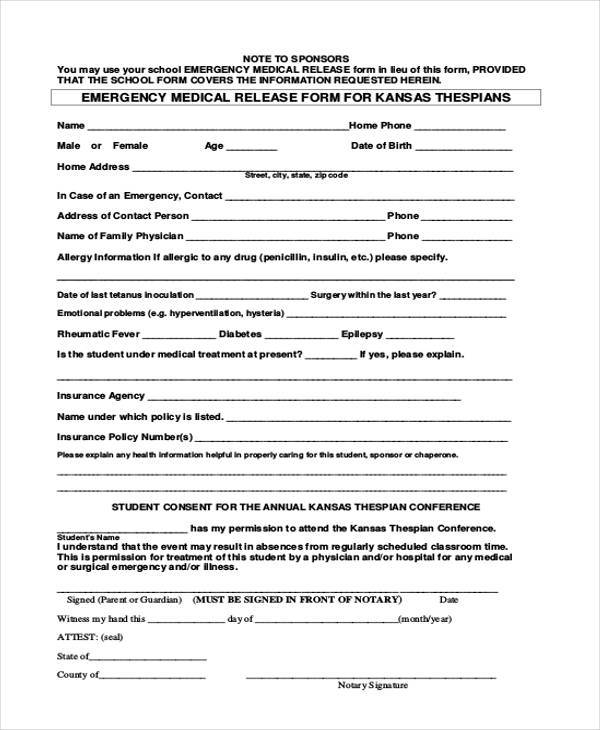 surgery release form - Experorderingsystem - physician release form