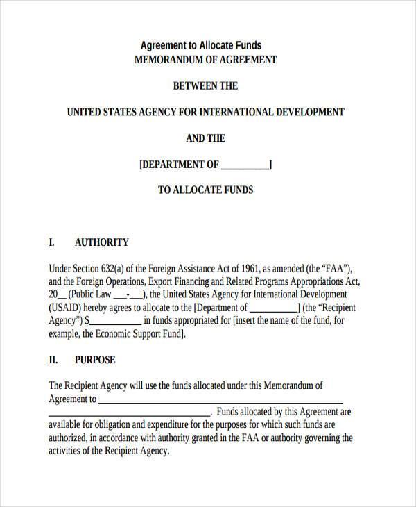 Sample Agency Agreement Sample Agency Agreement Sample Agreement - agreement form sample