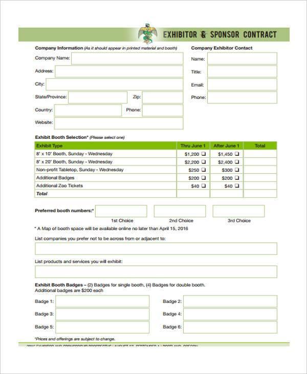 Example sponsor form cronjobbillybullockus