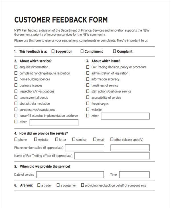 Training Feedback Form Format | Modello Curriculum Vitae Europass