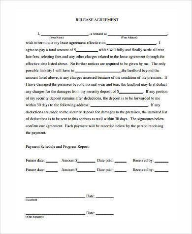 Release Agreement General Photography Contract Stunning - free release of liability form