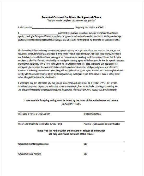 background consent form - Klisethegreaterchurch - background check authorization form
