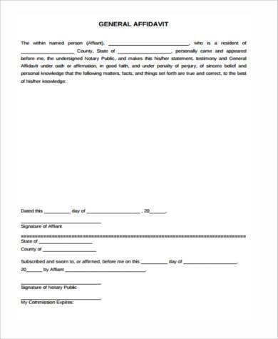 Generic Affidavit  NodeCvresumePaasproviderCom