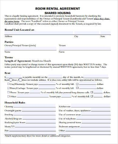 House Rental Contract Samples - 9+ Free Documents in Word, PDF - house rent contracts