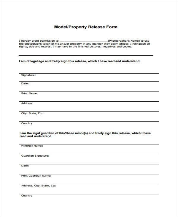 Cool Release Form Template Film Photos Example Resume And Template - Talent Release Form Template