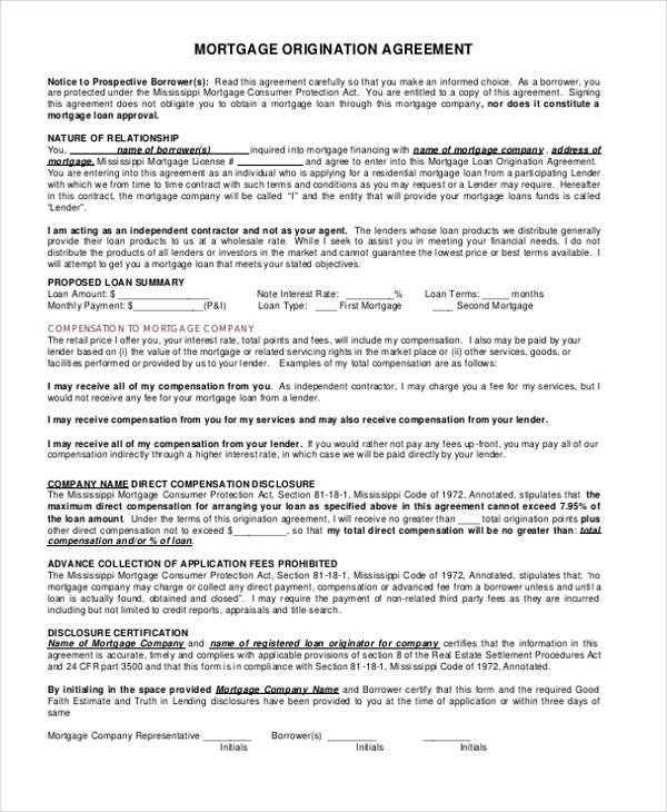 8+ Subordination Agreement Form Samples   Free Sample, Example Format    Good Faith Agreement