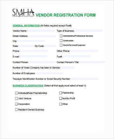 new vendor application form - Ozilalmanoof - vendor application form