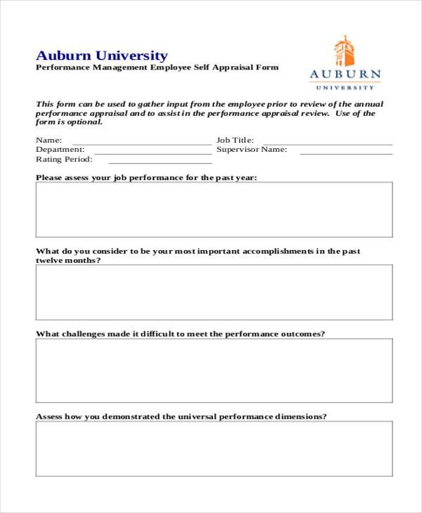 28+ Sample Appraisal Formats - Free Sample, Example, Format ,Download