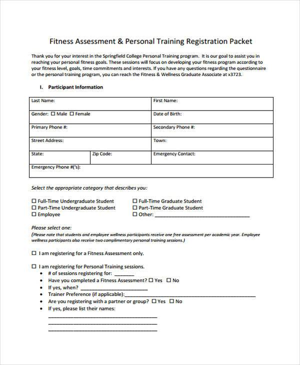 Training Assessment Form training needs analysis form template for