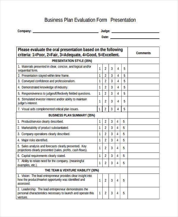 Sample Product Evaluation Forms 9+ Free Documents In Word, PDF Sample  Product