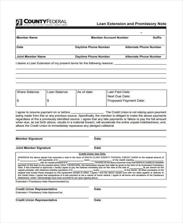 6+ Promissory Note Agreement Form Samples - Free Sample, Example - convertible note agreement template