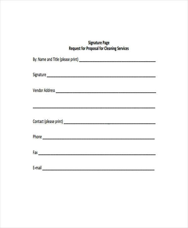 Sample Cleaning Contract Forms - 7+ Free Documents in Word, PDF - proposal contract template
